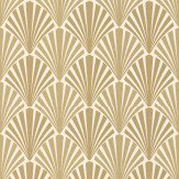 JAB Anstoetz  Swing Gold Wallpaper - Product code: 4-4049-040