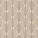 JAB Anstoetz  Swing Bronze Wallpaper - Product code: 4-4049-070