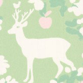 Majvillan Apple Garden Soft Green Wallpaper