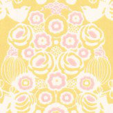 Majvillan Estelle Yellow and Pink Wallpaper