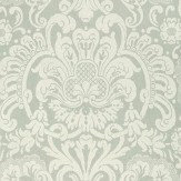 Thibaut Dorian Damask Grey Wallpaper - Product code: T89105
