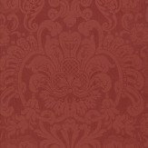 Thibaut Dorian Damask Red Wallpaper - Product code: T89106