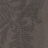Thibaut French Quarter Damask Charcoal Wallpaper
