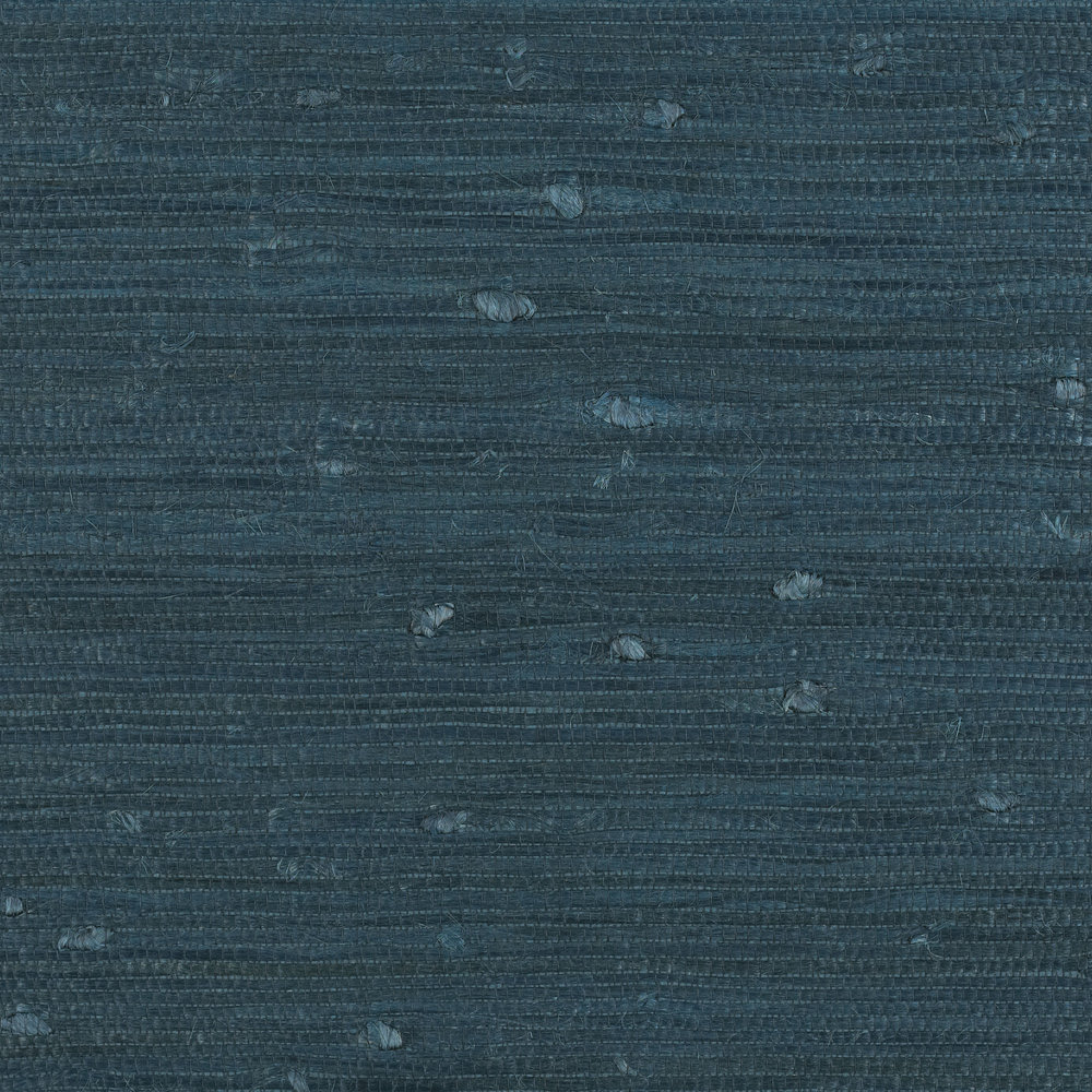 Ionian Sea Linen By Ralph Lauren Indigo Wallpaper Direct