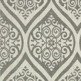 Thibaut Tangiers Black / Off White Wallpaper