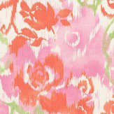 Thibaut Waterford Floral Pink Fabric