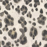 Thibaut Panthera Black and White Fabric