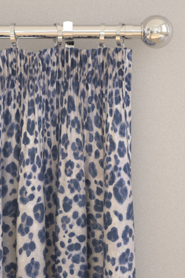 curtains by Thibaut - Navy - Fabric