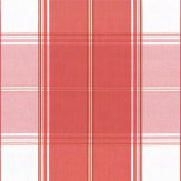 Thibaut New England Plaid Raspberry Fabric