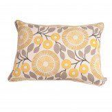 Natasha Marshall Pompom Cushion Lemon Slice