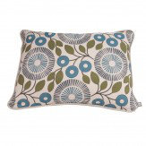 Natasha Marshall Pompom Cushion Nightshade