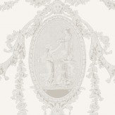 SketchTwenty 3 Toile Ivory Wallpaper