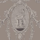SketchTwenty 3 Toile Pewter Wallpaper
