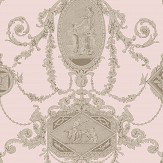 SketchTwenty 3 Toile Coral Wallpaper