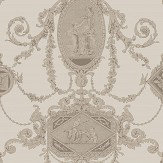 SketchTwenty 3 Toile Bronze Wallpaper