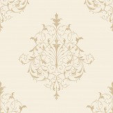 SketchTwenty 3 Filigree Gold Wallpaper