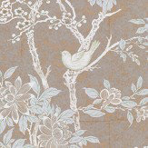 Ralph Lauren Marlowe Floral Sterling Wallpaper - Product code: LWP30571W