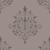 SketchTwenty 3 Filigree Charcoal Wallpaper