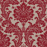 SketchTwenty 3 Grand Damask Wine Wallpaper