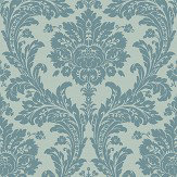SketchTwenty 3 Grand Damask Teal Wallpaper