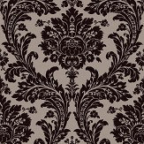 SketchTwenty 3 Grand Damask Charcoal Wallpaper
