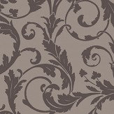 SketchTwenty 3 Scroll Pewter Wallpaper