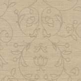 Ralph Lauren Great Chamber Embroidery Oyster Wallpaper - Product code: LWP64399W