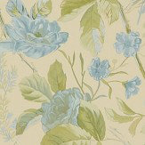 Ralph Lauren Marston Gate Floral Blue Wallpaper - Product code: PRL705/01