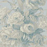 Ralph Lauren Francoise Bouquet Bluestone Wallpaper - Product code: PRL706/05