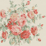 Ralph Lauren Wainscott Floral Cream Wallpaper - Product code: PRL707/05