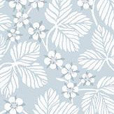 Sandberg Henry Light Blue Wallpaper