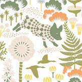 Boråstapeter Hoppmosse White Wallpaper - Product code: 1450
