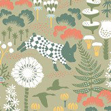 Boråstapeter Hoppmosse Green Wallpaper - Product code: 1451
