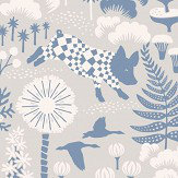 Boråstapeter Hoppmosse Grey Wallpaper - Product code: 1454