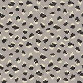 Lee Jofa Kelly Wearstler Feline Grey / Black Wallpaper