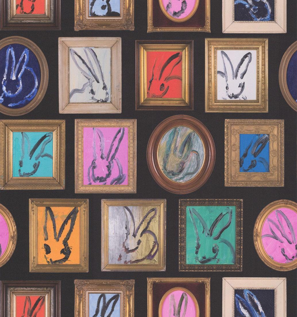 Image of Lee Jofa Wallpapers Hunt Slonem Bunny Wall, GWP-3410.8.0