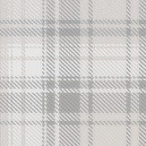 Boråstapeter Tartan Pale Grey Wallpaper - Product code: 4004