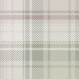 Boråstapeter Tartan Pink Green Wallpaper - Product code: 4005
