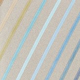 Harlequin Tresillo  Sky, Cerulean and Caper Wallpaper