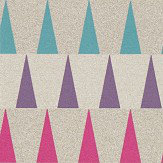 Harlequin Azul Fuchsia, Zest and Azure Wallpaper