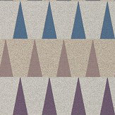 Harlequin Azul Damson, Slate and Viola Wallpaper