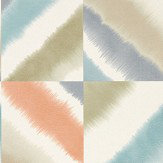Harlequin Quadro Rust, Caper and Navy Wallpaper - Product code: 111455