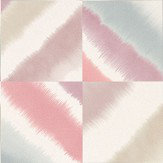 Harlequin Quadro Raspberry, Viola and Nordic Blue Wallpaper - Product code: 111457