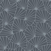Boråstapeter Stjarnflor Charcoal Wallpaper - Product code: 1467