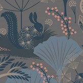 Boråstapeter Mardgomma Blue Wallpaper - Product code: 1470
