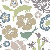 Boråstapeter Ravdunge Green Wallpaper - Product code: 1472