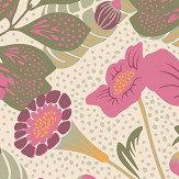 Boråstapeter Vildtuta Pink Wallpaper - Product code: 1474