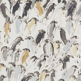 Lee Jofa Hunt Slonem Finches Neutral / Ivory Wallpaper - Product code: GWP-3412.116.0