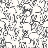 Lee Jofa Hunt Slonem Hutch Black / White Wallpaper - Product code: GWP-3413.101.0
