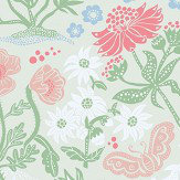 Sandberg Lotte Green Wallpaper - Product code: 592-28